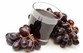 jus de raisin en nutrition consiente